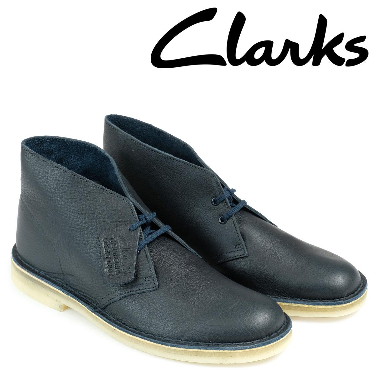 21717434b64 Kulaki Clarks desert boots men DESERT BOOT 26125548 leather navy