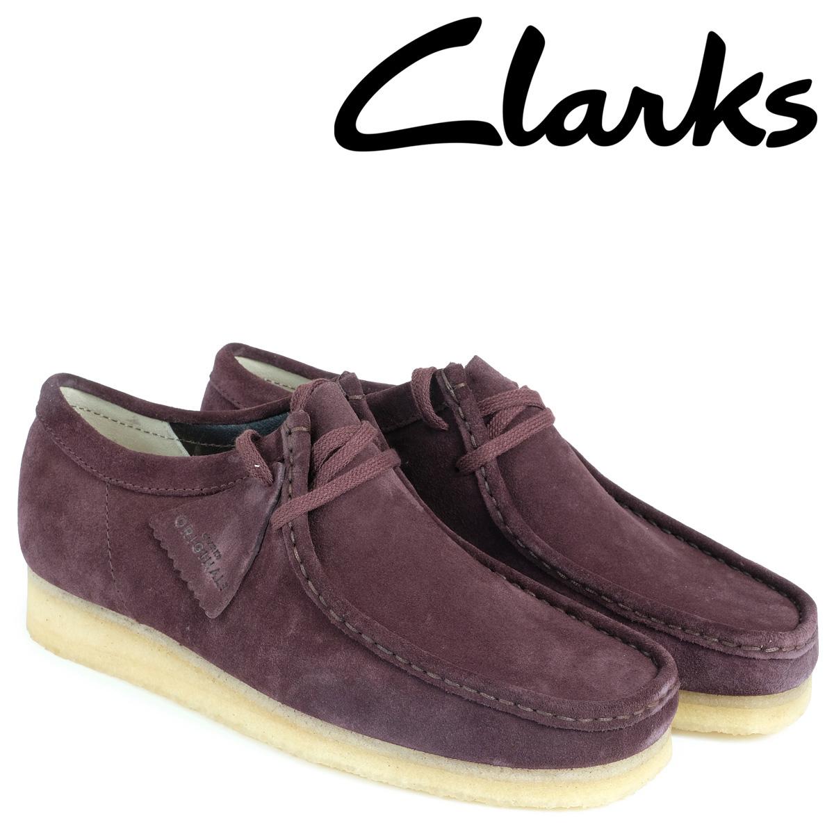 クラークス Clarks ワラビー ブーツ メンズ WALLABEE 26128510 バーガンディー
