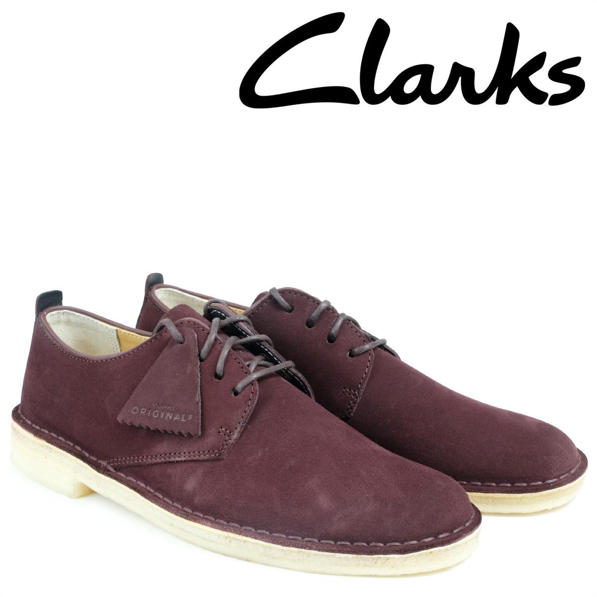 クラークス Clarks デザートブーツ シューズ メンズ DESERT LONDON 2628511 ロンドンバーガンディー