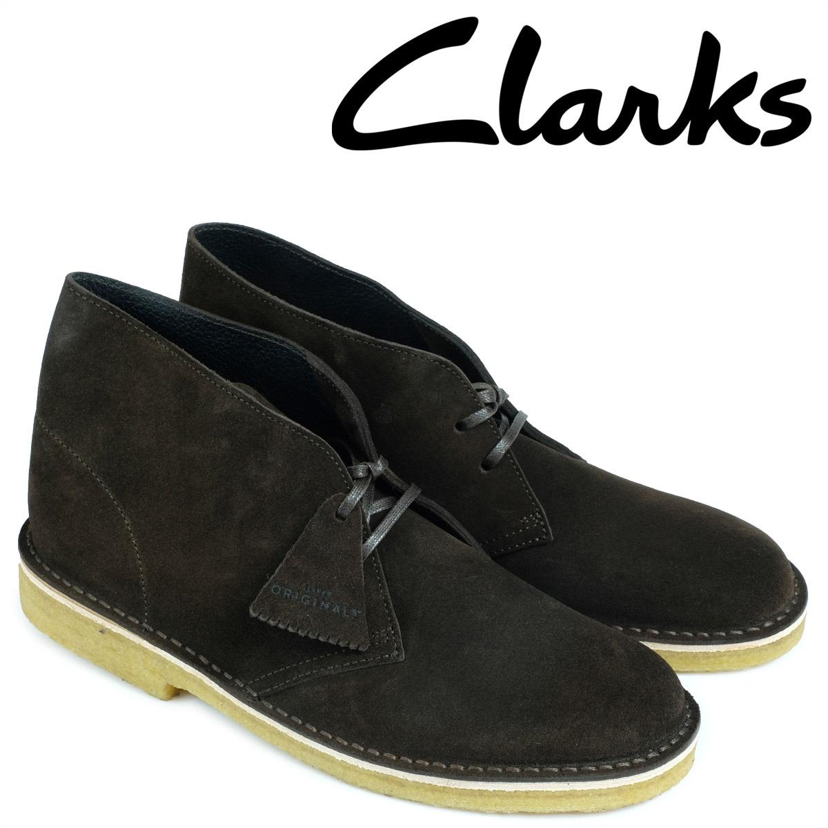 クラークス Clarks デザートブーツ メンズ DESERT BOOT 26128538 レザー ブラウン