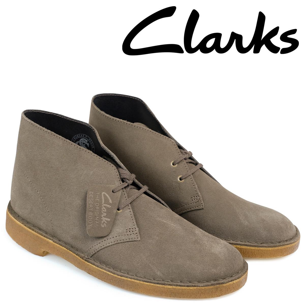 【最大2000円OFFクーポン】 クラークス デザートブーツ メンズ Clarks DESERT BOOT 26128682 レザー オリーブ