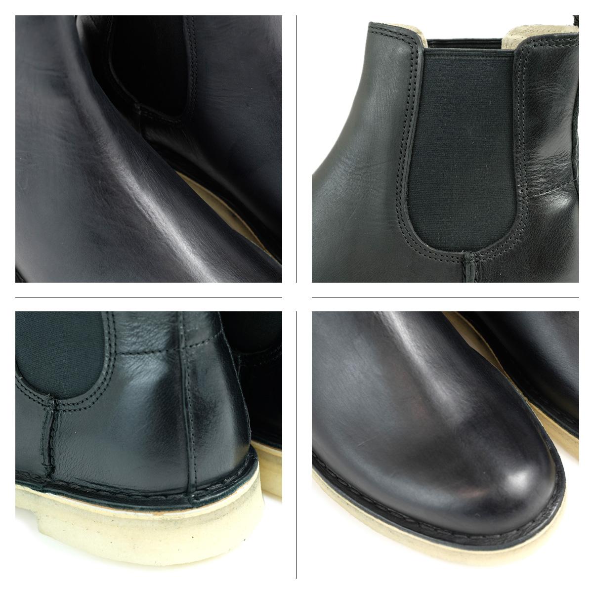9ab7288cf3b Kulaki Clarks dessert peak boots men DESERT PEAK 26128730 side Gore black