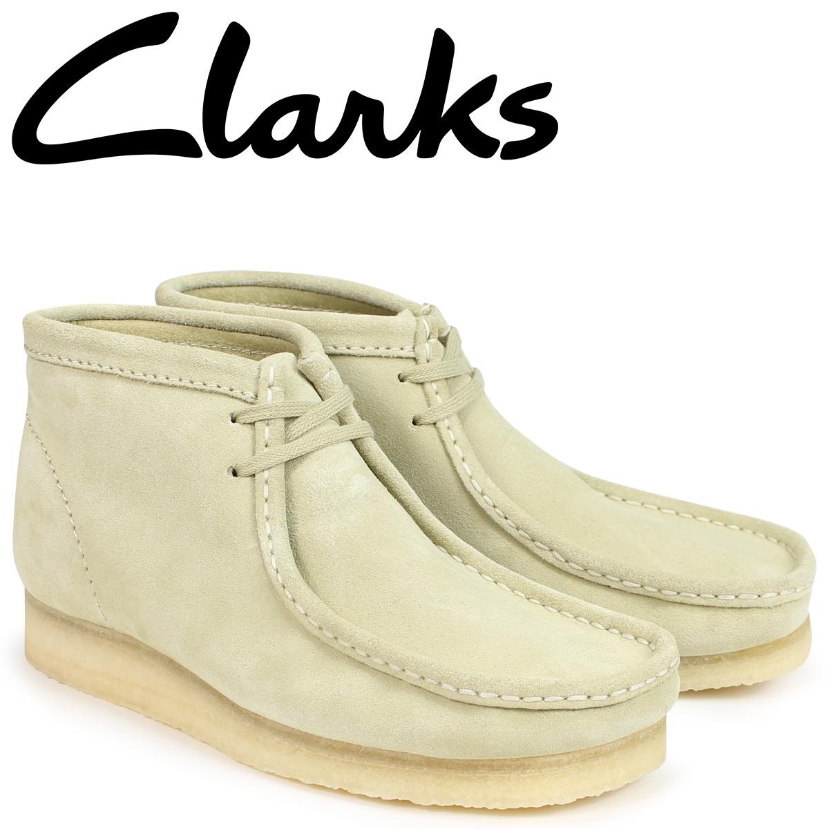 【最大2000円OFFクーポン】 クラークス ワラビー ブーツ メンズ Clarks WALLABEE BOOT 26133283 メープル [2/22 追加入荷]