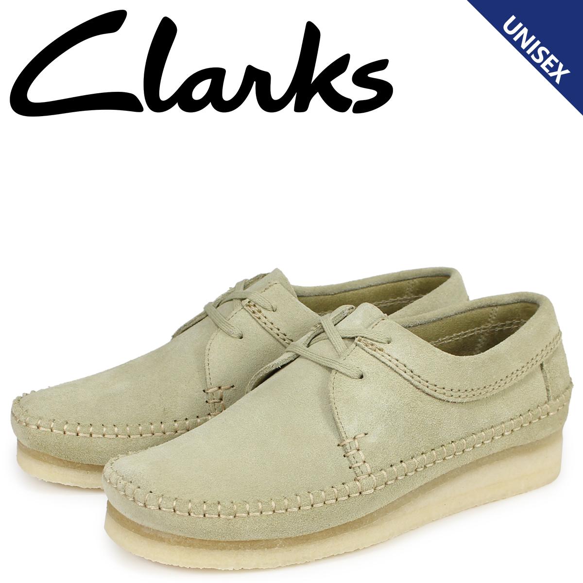クラークス Clarks ウィーバー ブーツ メンズ レディース WEAVER メープルスエード ベージュ 26133285