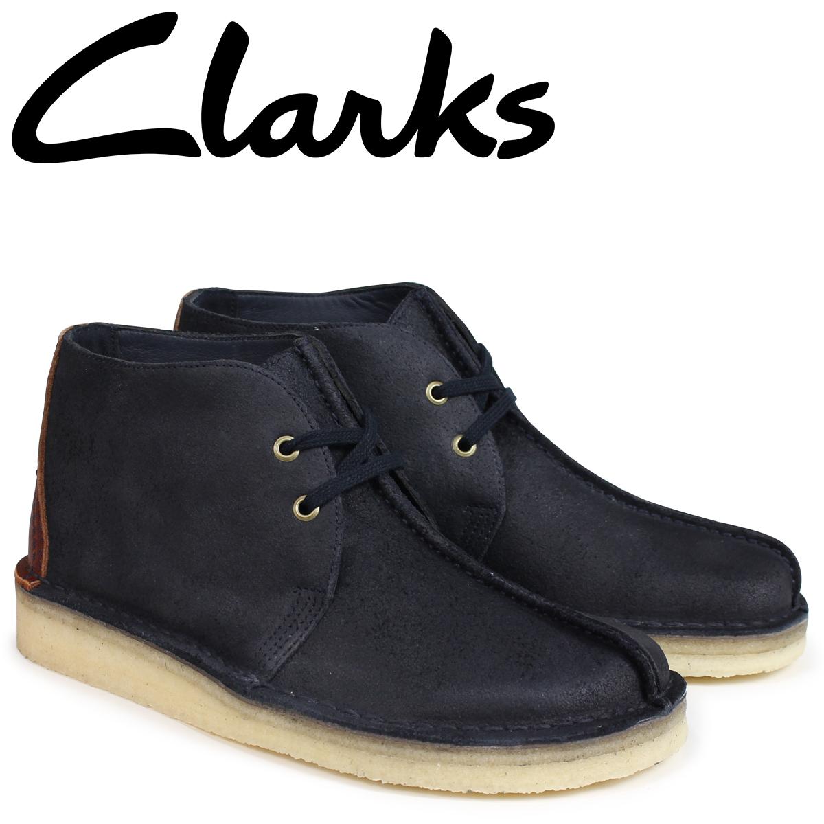 クラークス Clarks デザートトレックハイ ブーツ メンズ DESERT TREK HI 26134942 ダークネイビー
