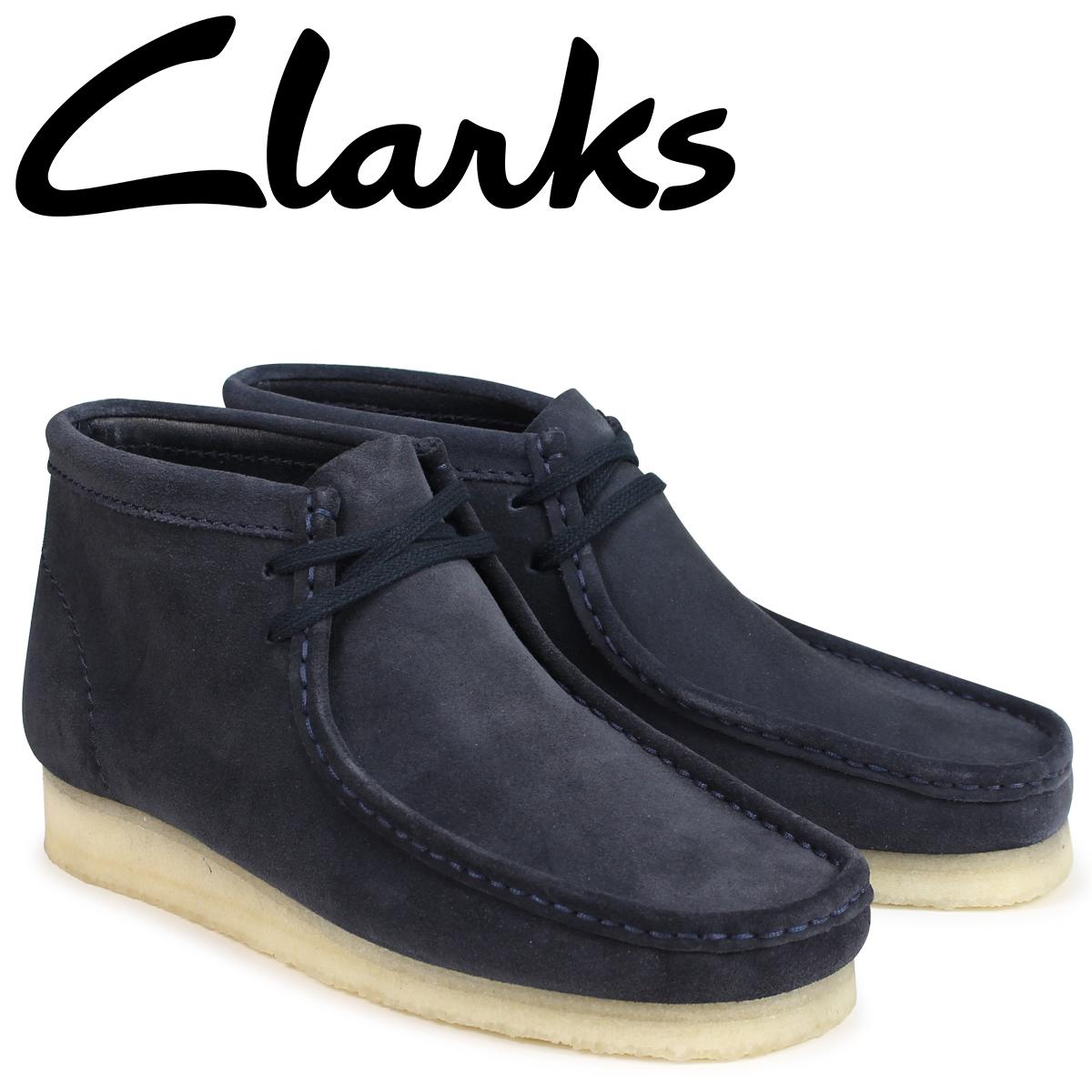 SneaK Online Shop | Rakuten Global Market: Kulaki wallaby boots men Clarks WALLABEE BOOT 26135225 dark blue [load planned Shinnyu load in reservation product 9/19 containing]