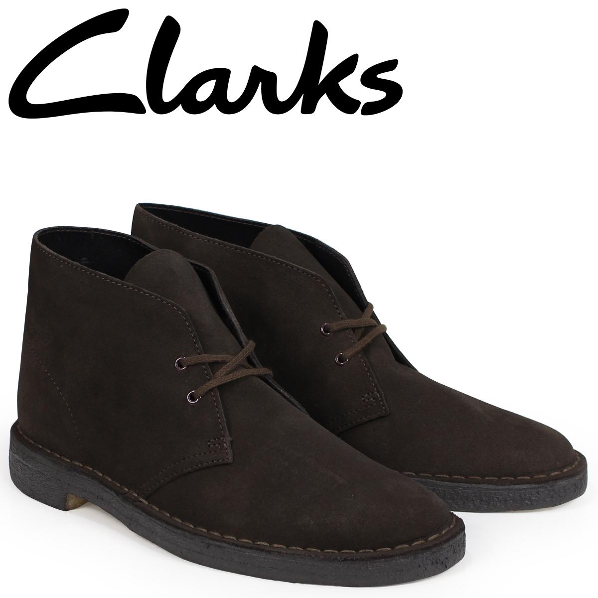 クラークス Clarks デザートブーツ メンズ DESERT BOOT 26138229 ダークブラウン [3/30 追加入荷]