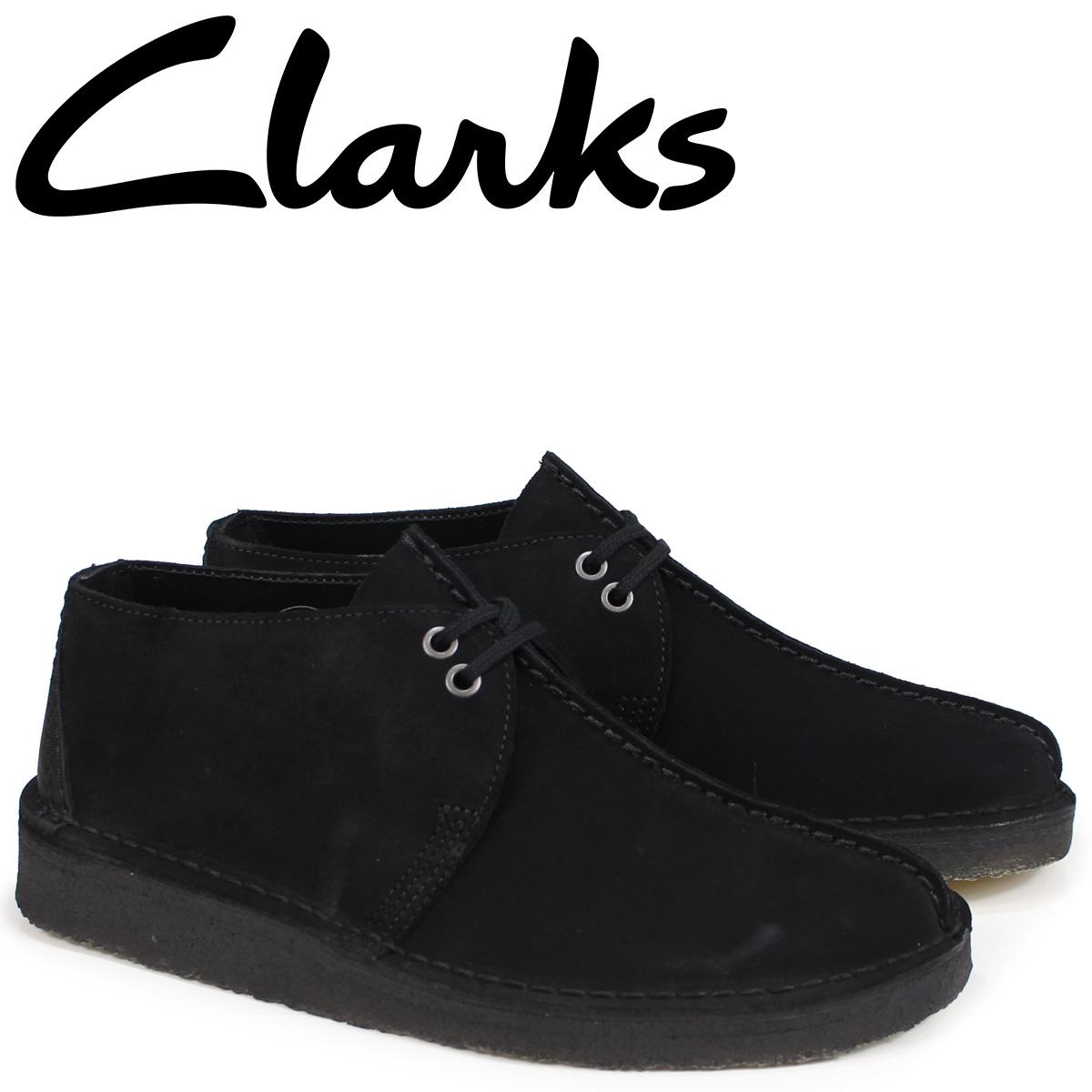 【最大2000円OFFクーポン】 クラークス Clarks デザートトレック ブーツ メンズ DESERT TREK 26138667 ブラック
