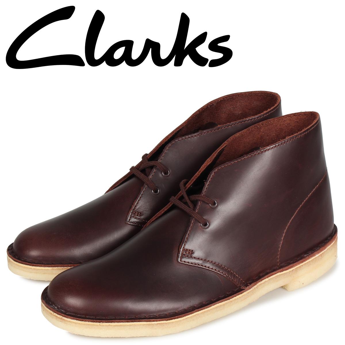 クラークス Clarks デザートブーツ メンズ DESERT BOOT ブラウン 26144228