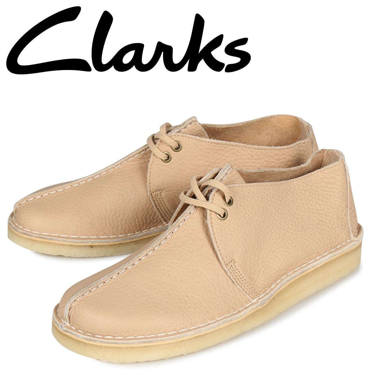 クラークス Clarks デザートトレック ブーツ メンズ DESERT TREK オフ ホワイト 26145275