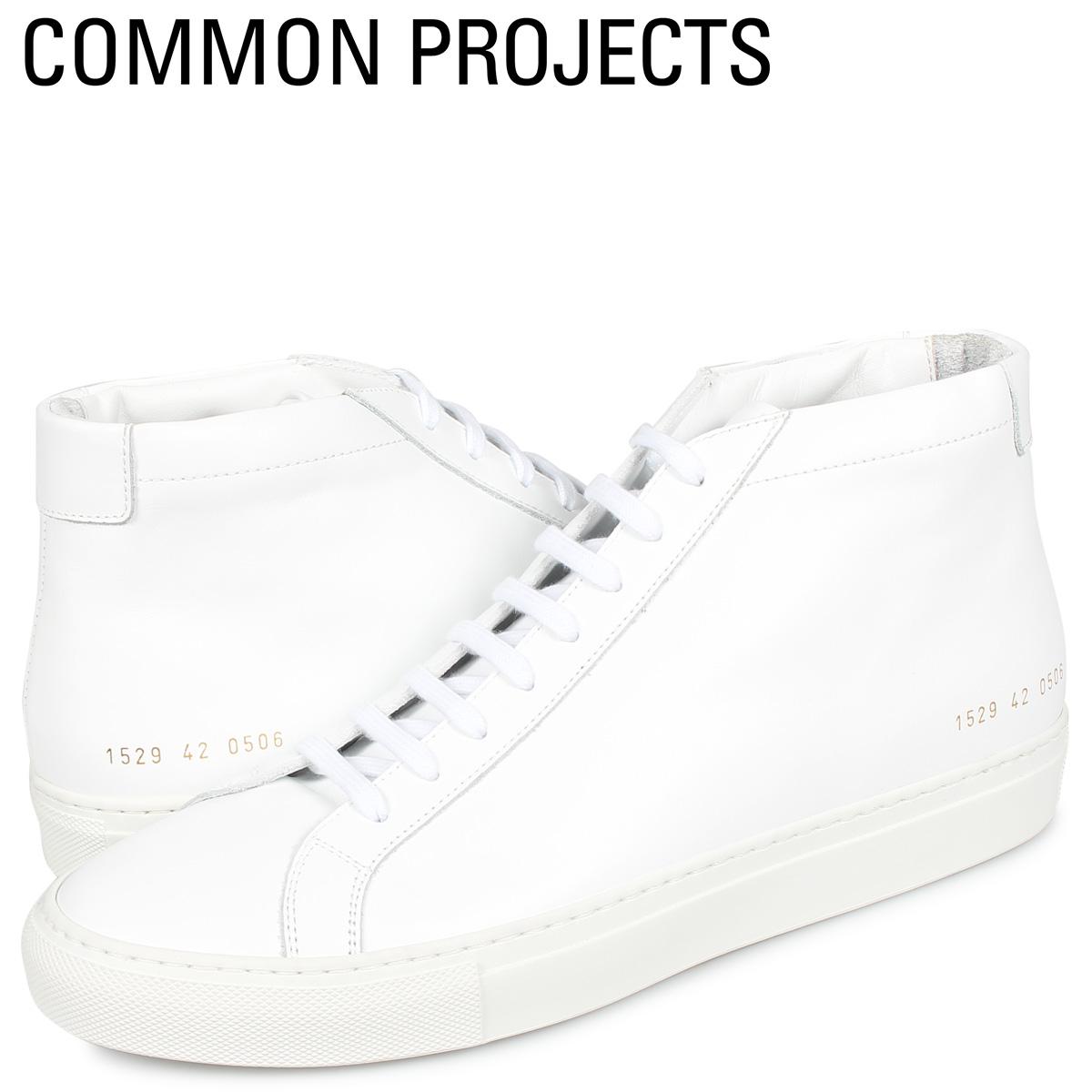 コモンプロジェクト Common Projects アキレス ミッド スニーカー メンズ ACHILLES MID ホワイト 白 1529-0506