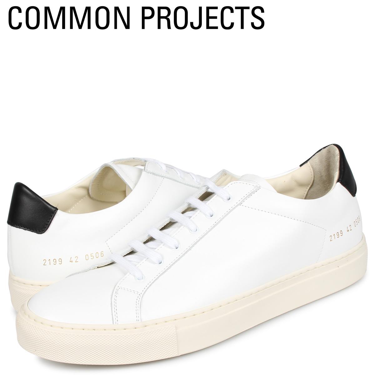 コモンプロジェクト Common Projects レトロ ロー スニーカー メンズ RETRO LOW ホワイト 白 2199-0506