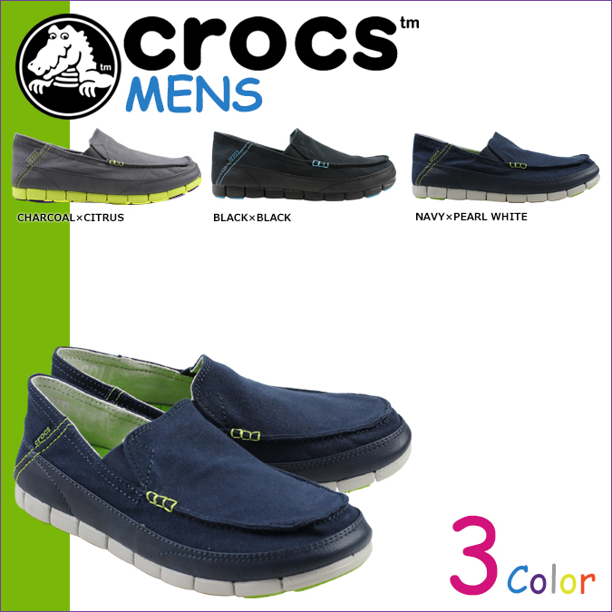 Crocs crocs stretch sole loafer slip-on STRETCH SOLE LOAFER MEN cross light mens 14773 3 colors [5 / 13 new stock] [regular]