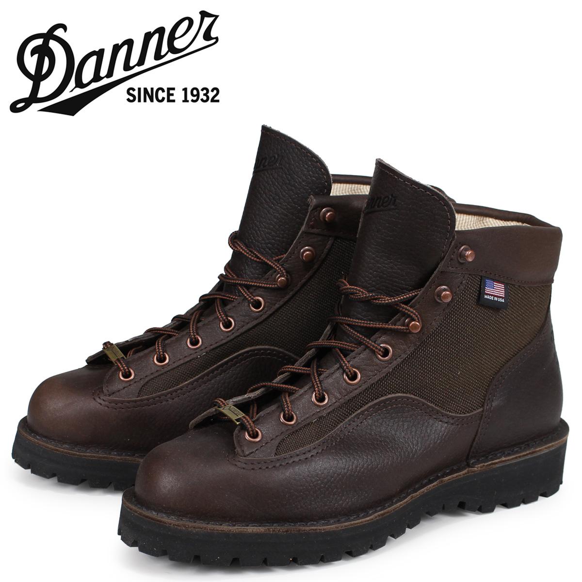【最大2000円OFFクーポン】 ダナー Danner ダナーライト2 ブーツ メンズ DANNER LIGHT 2 Dワイズ MADE IN USA ダークブラウン 33020