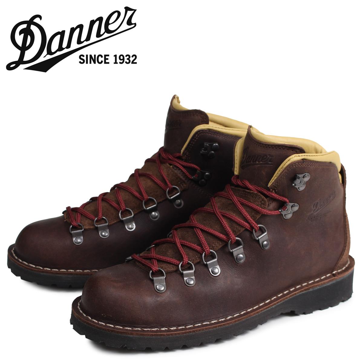 ダナー Danner マウンテンパス ブーツ メンズ MOUNTAIN PASS MADE IN USA EEワイズ ブラウン 33293