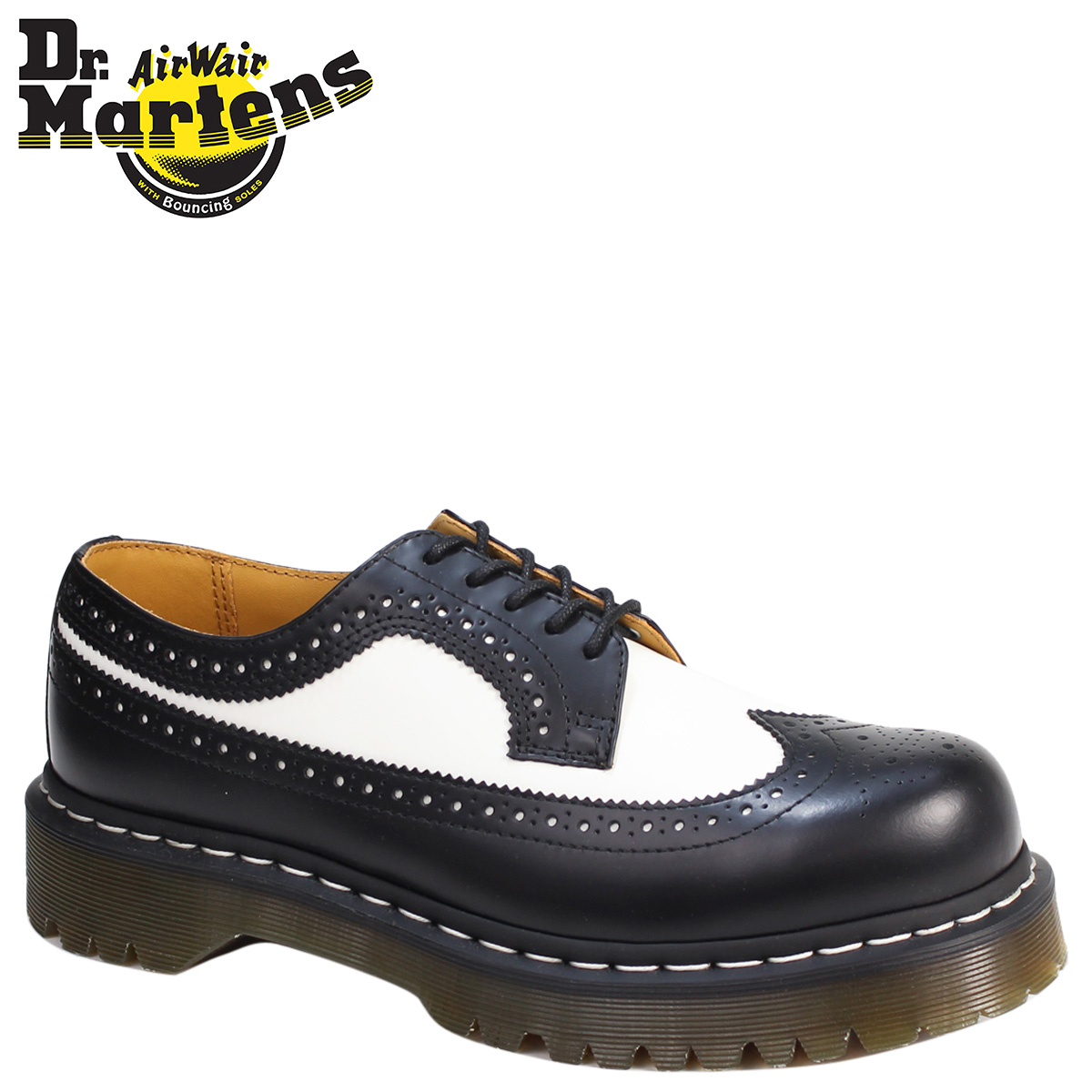 online retailer 1dfc9 70749 Doctor Martin 5 hall 3989 men s Lady s Dr.Martens wing tip shoes 5 EYE  BROGUE