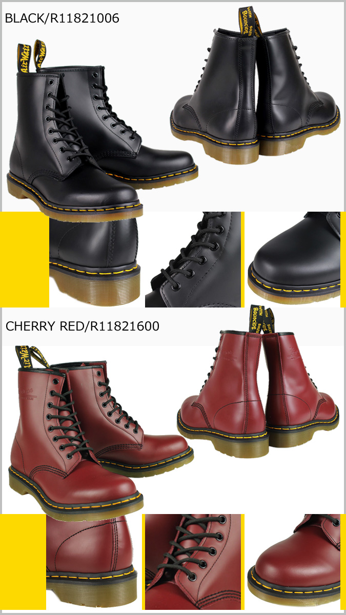 «Reserved goods» «10 / 22 around stock» Dr. Martens Dr.Martens 1460 WOMENS 8 hole boots 11821006 11821600 MATERIAL UPDATES Leather Womens mens 8 EYE BOOTS