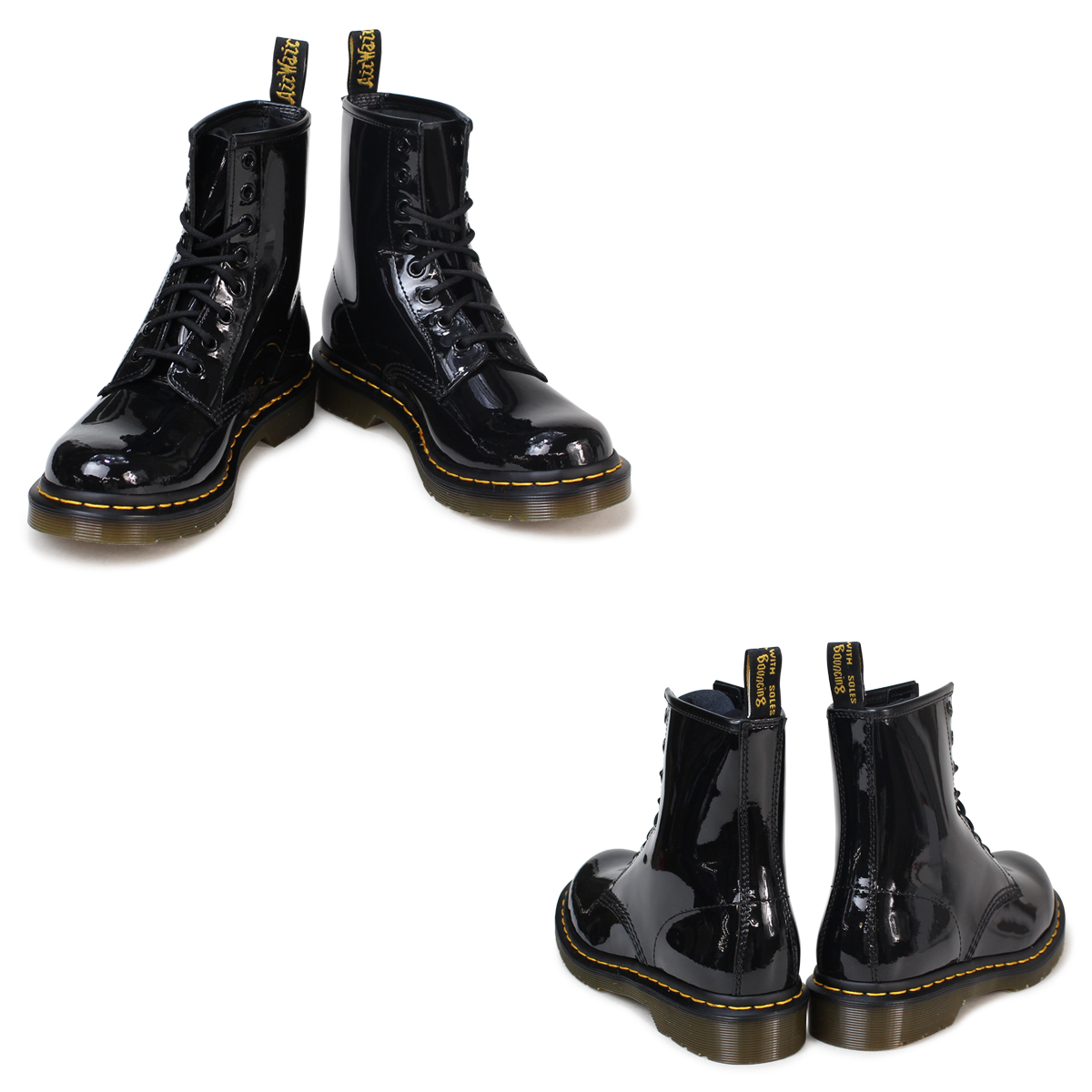 «Reservation products» «10 / 22 around stock» Dr. Martens Dr.Martens 1460 WOMENS 8 hole boots R11821011 MATERIAL UPDATES patent leather Womens mens 8 EYE BOOTS