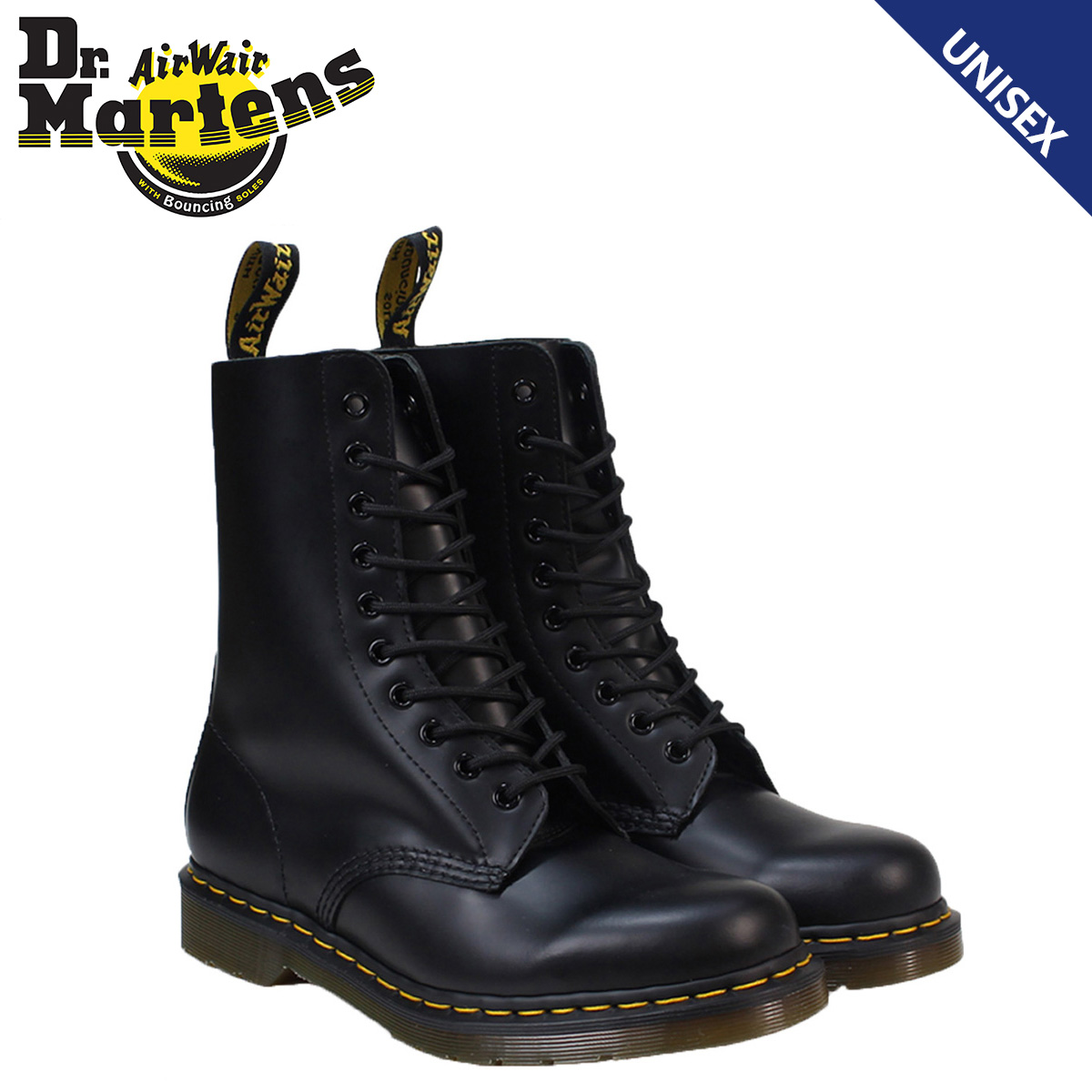 Dr. Martens Dr.Martens 10 hole boot R11857001 1490 leather men women