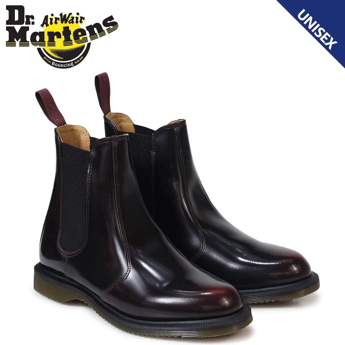 ドクターマーチン Dr.Martens サイドゴア メンズ レディース ブーツ チェルシーブーツ FLORA CHELSEA BOOT R14650601