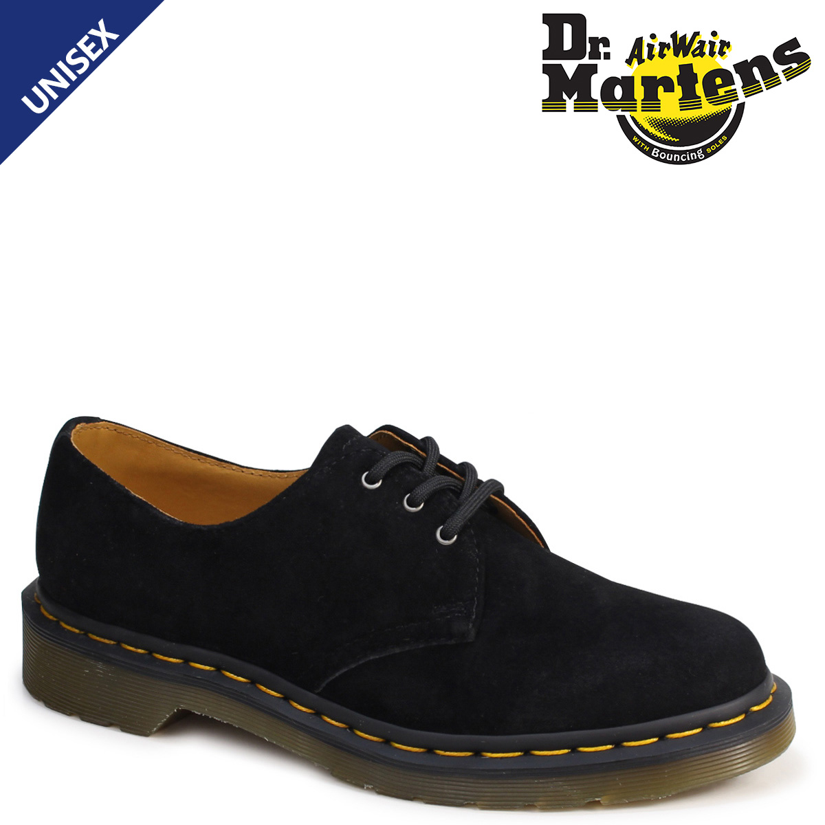ドクターマーチン 3ホール 1461 メンズ レディース Dr.Martens オックスフォード シューズ 3EYELET SHOE R21471001 ブラック