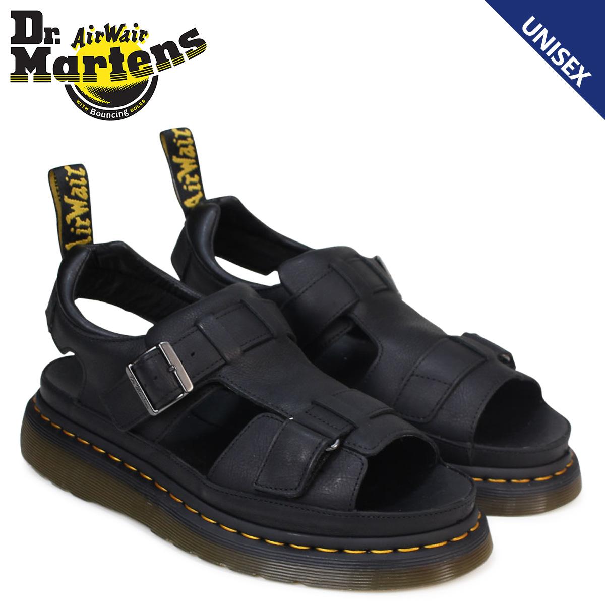 博士马丁凉鞋女士人Dr.Martens皮革SHORE HAYDEN GRUNGE SANDAL R22168001黑色[3/29新进货]