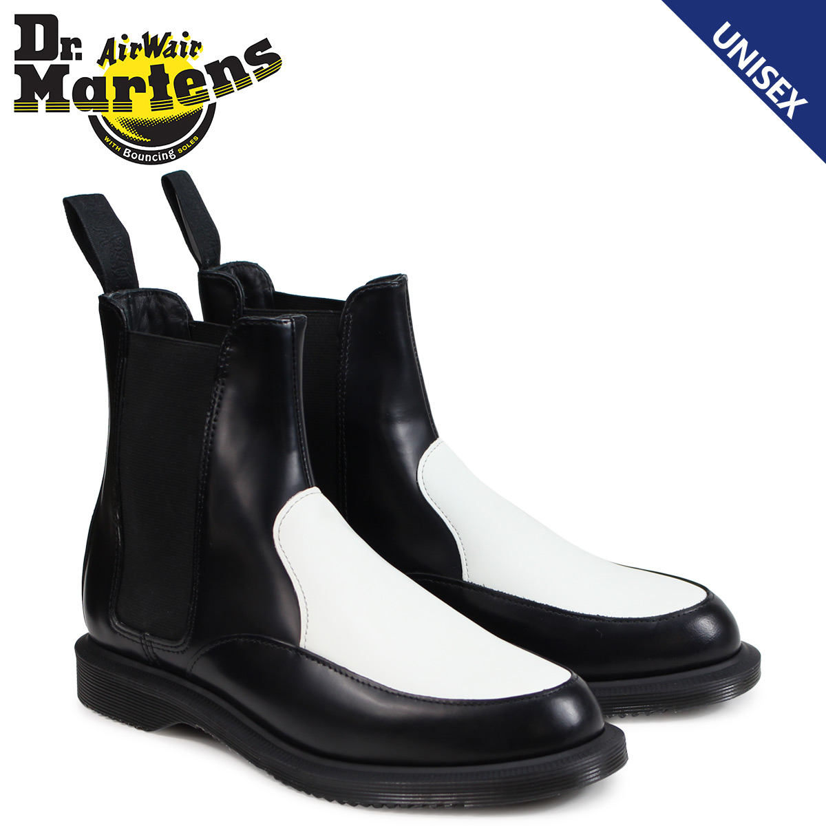 【最大2000円OFFクーポン】 ドクターマーチン サイドゴア チェルシーブーツ レディース メンズ Dr.Martens AIMELYA CHELSEA BOOTS ブラック R23966009