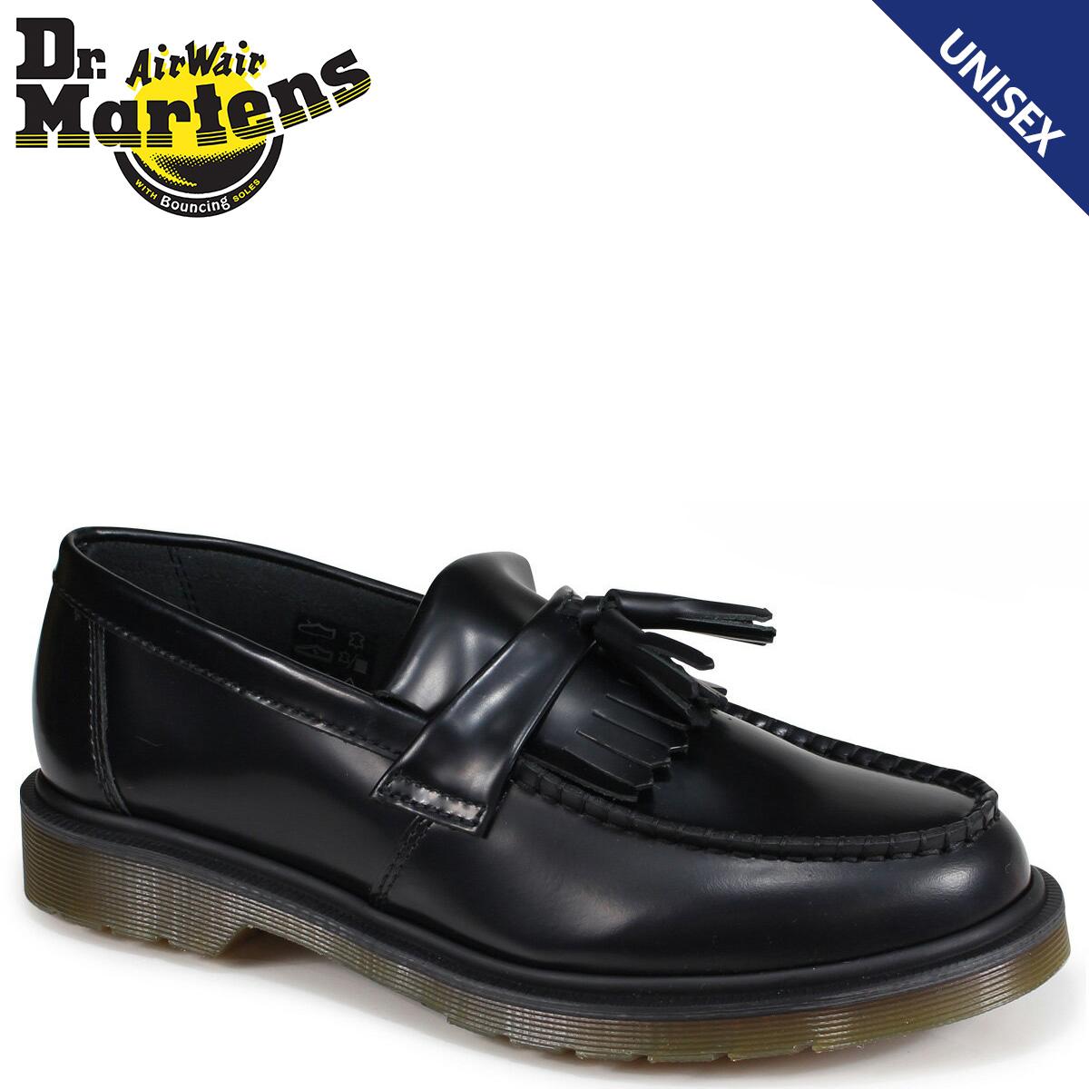 ドクターマーチン Dr.Martens ローファー タッセル メンズ レディース ADRIAN TASSEL LOAFER ブラック R24369001
