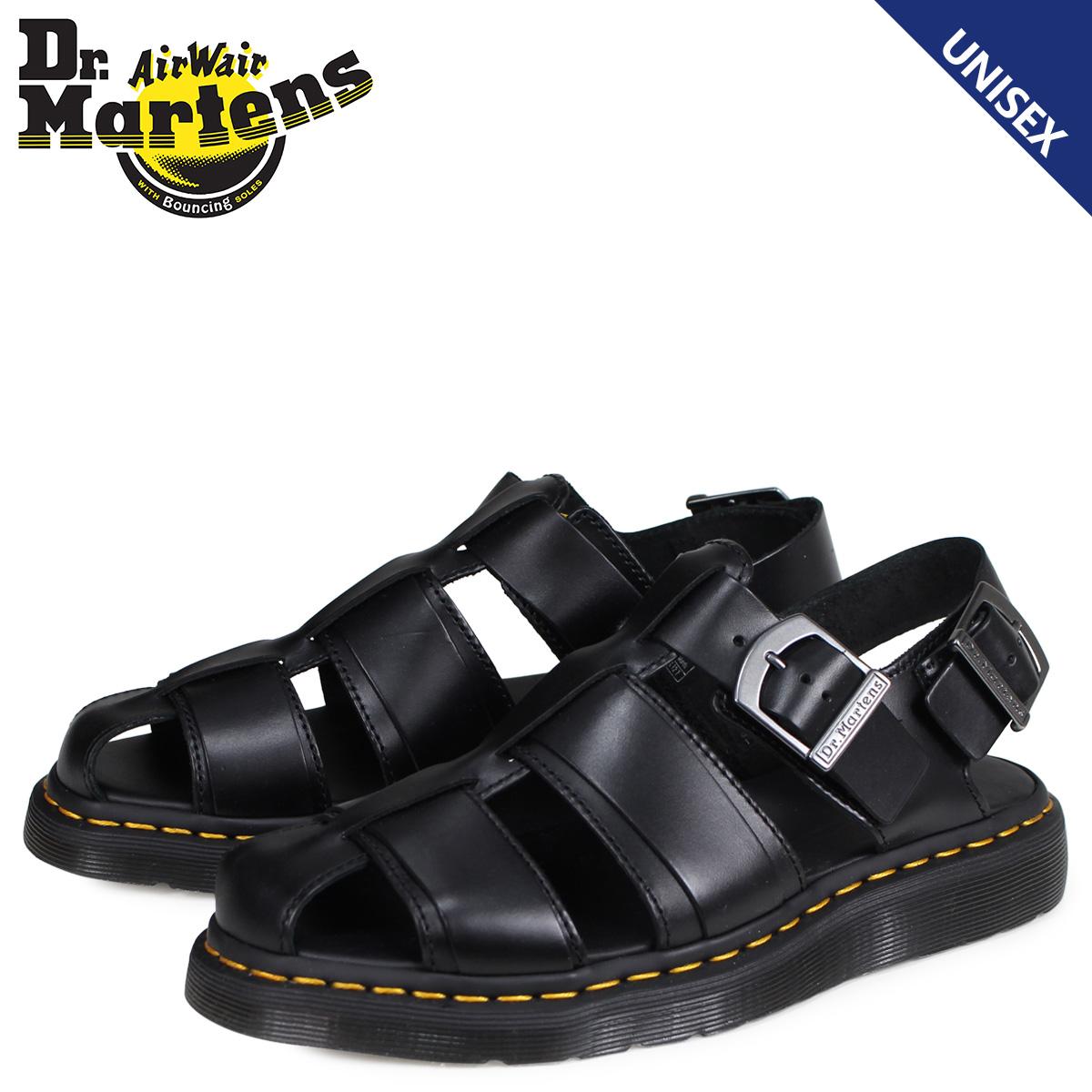 ドクターマーチン Dr.Martens サンダル カシオン フィッシャーマン メンズ レディース SHORE KASSION SANDAL ブラック 黒 R24629001
