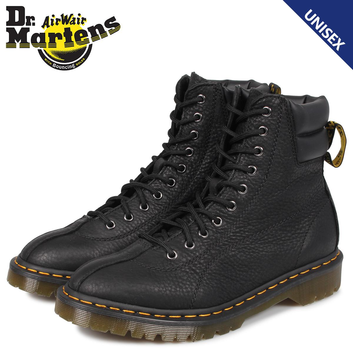 ドクターマーチン Dr.Martens 10ホール ブーツ メンズ レディース SANTO GRIZZLY 10EYE BOOT ブラック 黒 R24969001