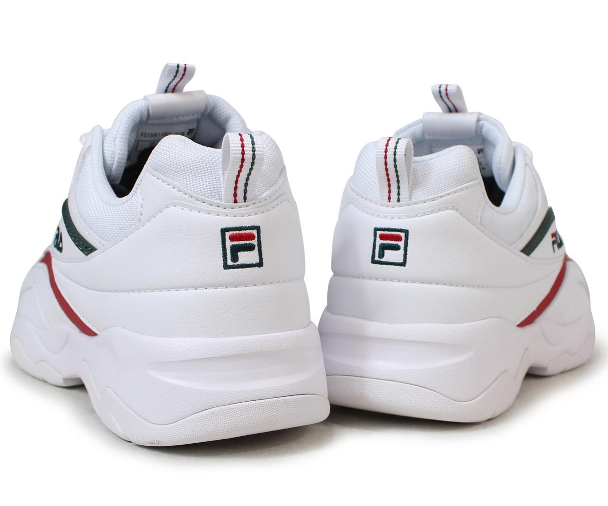 FILA Fila Fila lei sneakers men gap Dis folder FOLDER FILARAY SMU collaboration white FLFL8A1U10 FS1SIA1166X WGN