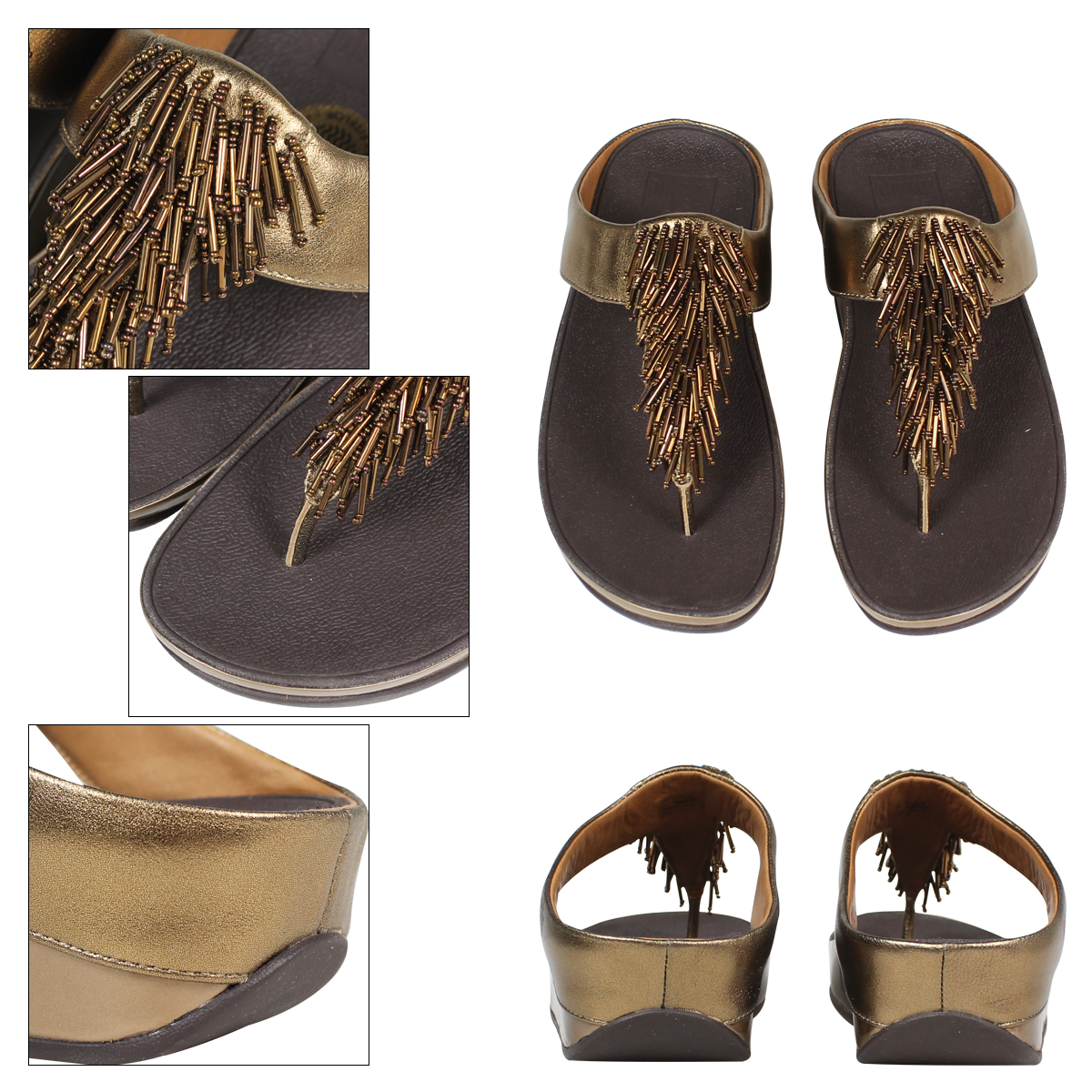 37fc69dfdcf569 Fit flops FitFlop women s CHA CHA Cha Cha  bronze  patent leather SANDAL  336  3   17 new in stock   regular