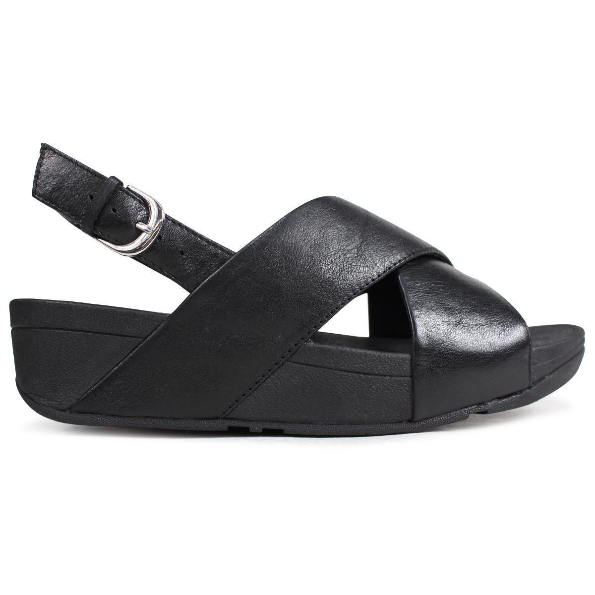 1c1b36500 SneaK Online Shop  FitFlop fitting FLOP sandals Lulu LULU CROSS BACK-STRAP  SANDALS LEATHER Lady s K03 black