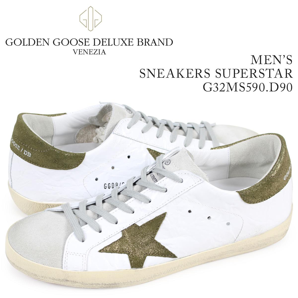 ゴールデングース Golden Goose スニーカー メンズ スーパースター SNEAKERS SUPERSTAR ホワイト G32MS590 E52 【決算セール 返品不可】