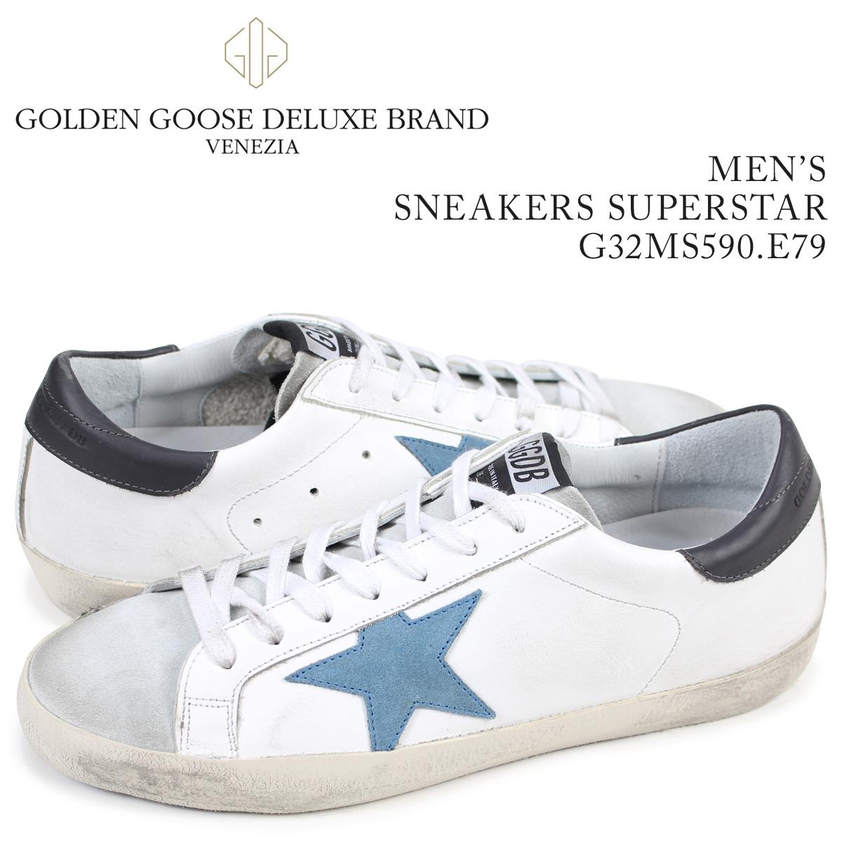 ゴールデングース Golden Goose スニーカー メンズ スーパースター SNEAKERS SUPERSTAR ホワイト G32MS590 E79
