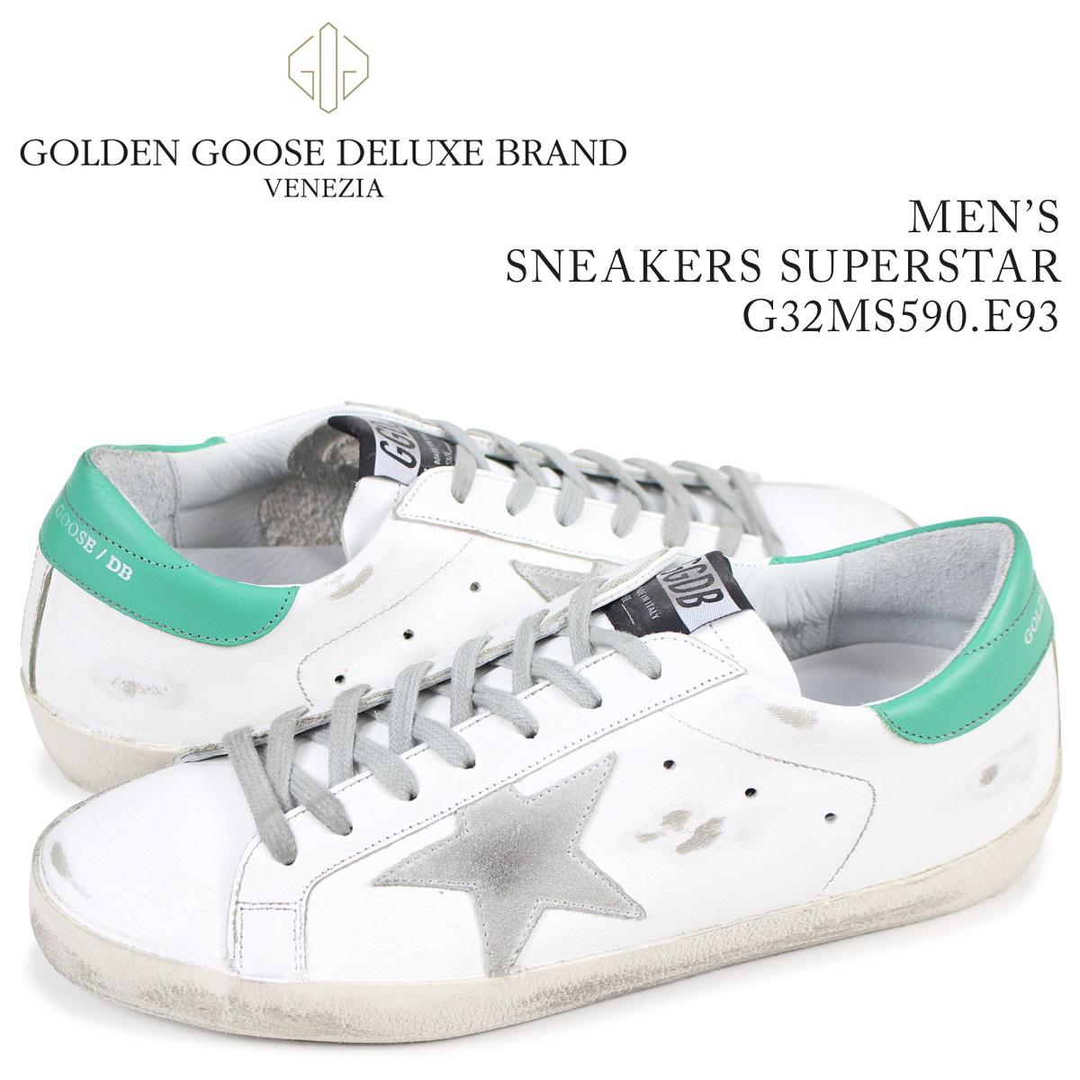 ゴールデングース Golden Goose スニーカー メンズ スーパースター SNEAKERS SUPERSTAR ホワイト G32MS590 E93 【決算セール 返品不可】