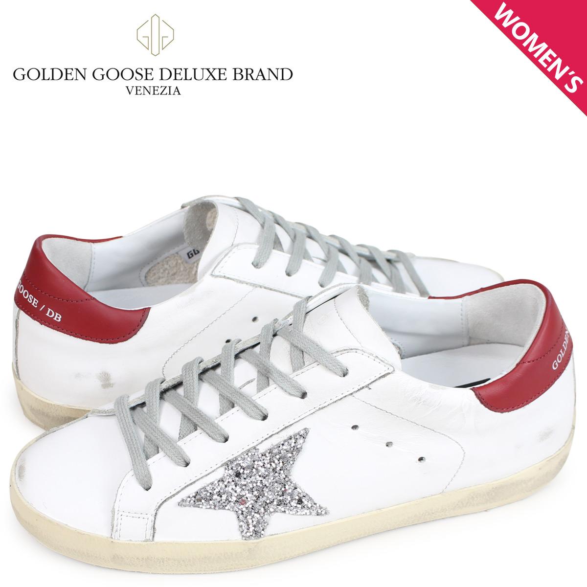 【お買い物マラソンSALE】 ゴールデングース Golden Goose スニーカー レディース スーパースター SNEAKERS SUPERSTAR ホワイト G33WS590 H16