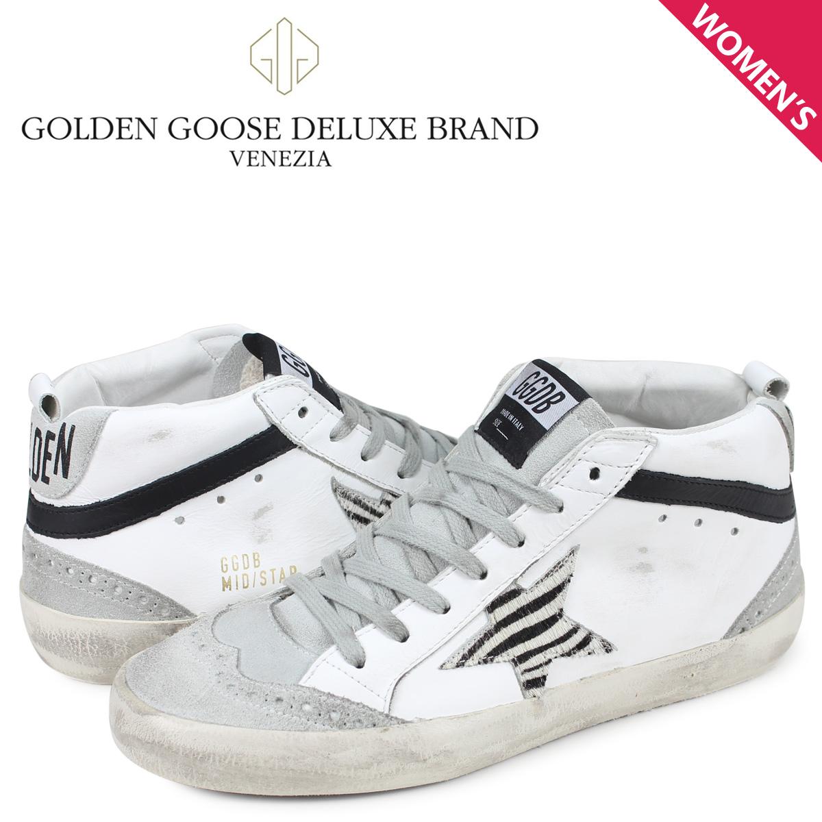 ゴールデングース Golden Goose スニーカー ミッド スター レディース SNEAKERS MID STAR ホワイト G34WS634 O7