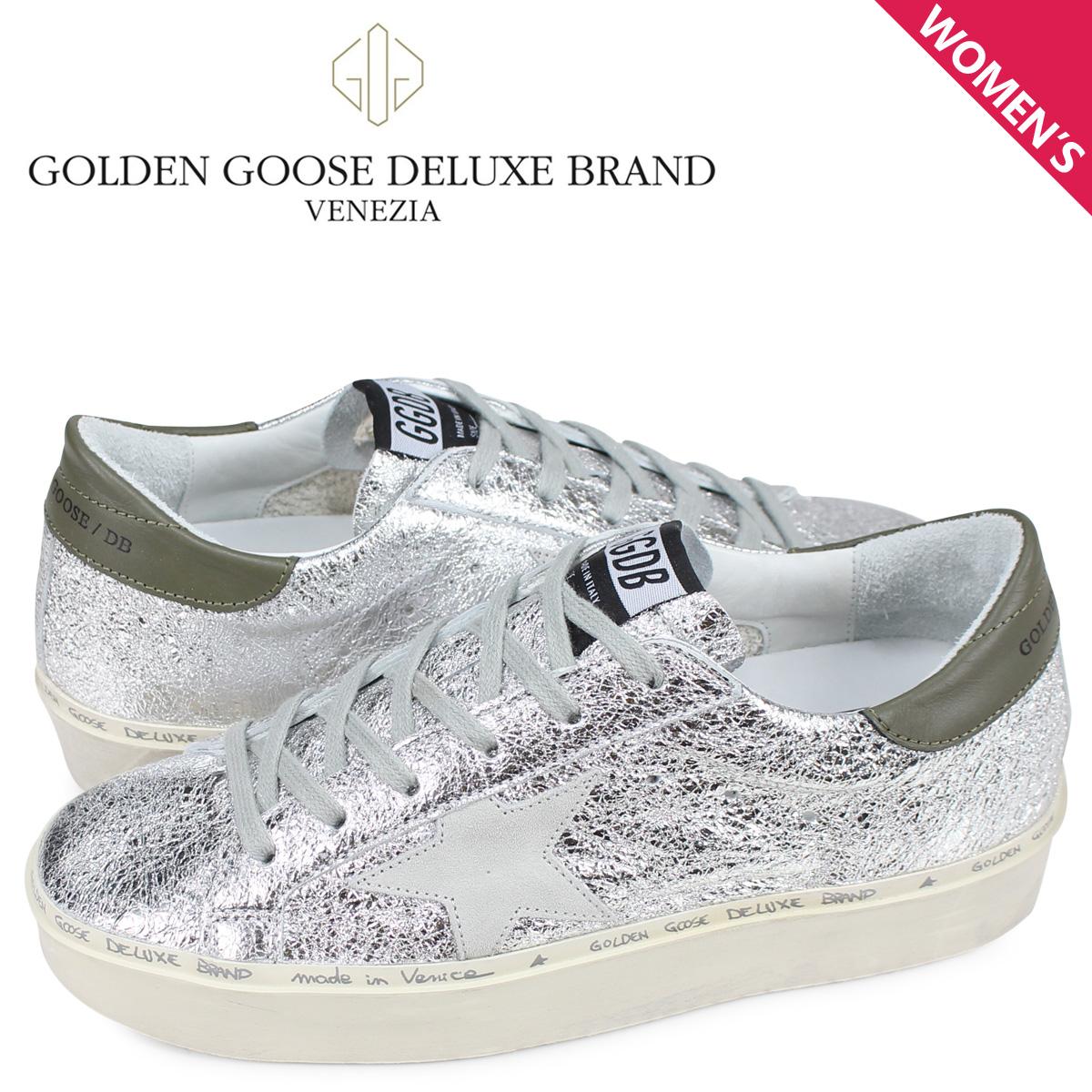 ゴールデングース Golden Goose スニーカー ハイ スター レディース 厚底 SNEAKERS HI STAR シルバー G34WS945 B5