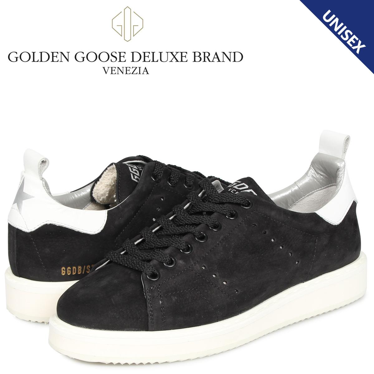 ゴールデングース Golden Goose スターター スニーカー メンズ レディース STARTER ブラック 黒 G35WS631 R1