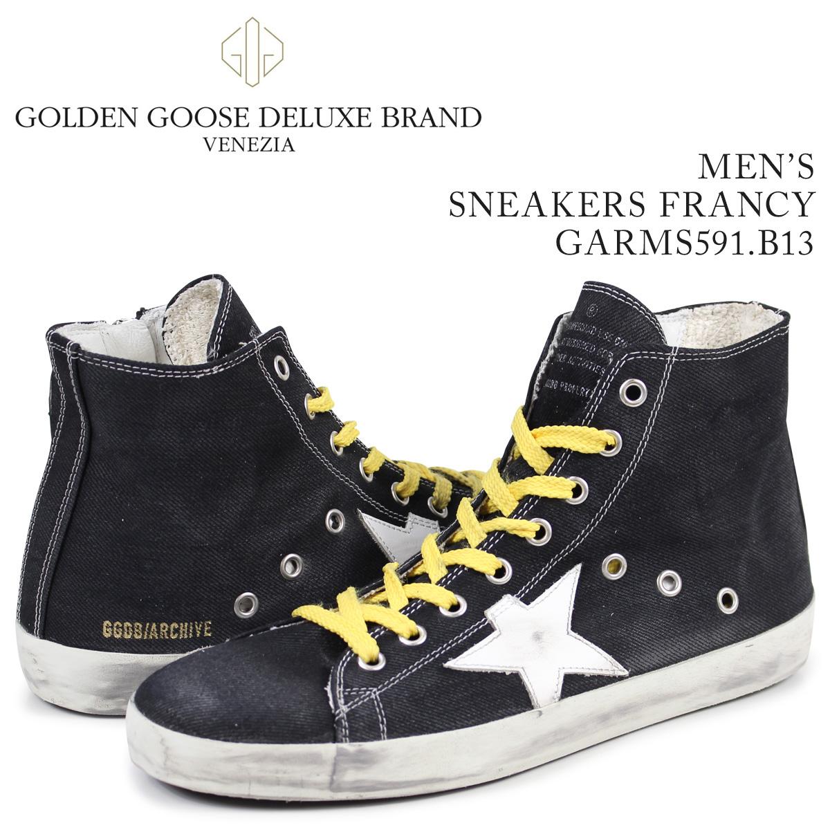 ゴールデングース Golden Goose スニーカー メンズ フランシー SNEAKERS FRANCY ブルー GARMS591 B13