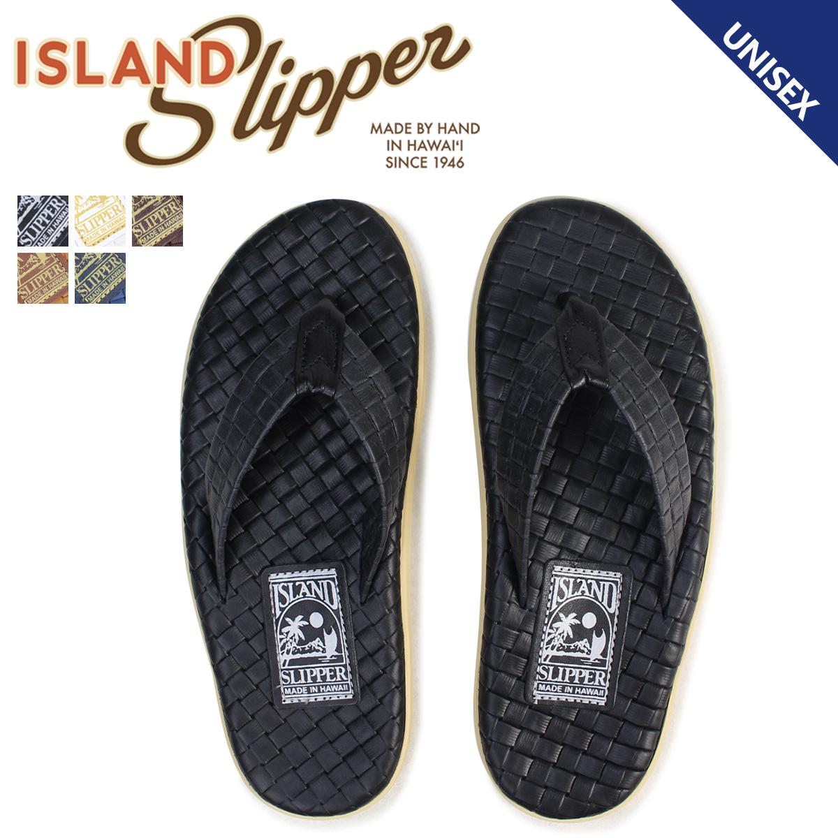 アイランドスリッパ ISLAND SLIPPER サンダル トングサンダル メンズ レディース レザー ITALIAN WEAVE PT202SAS