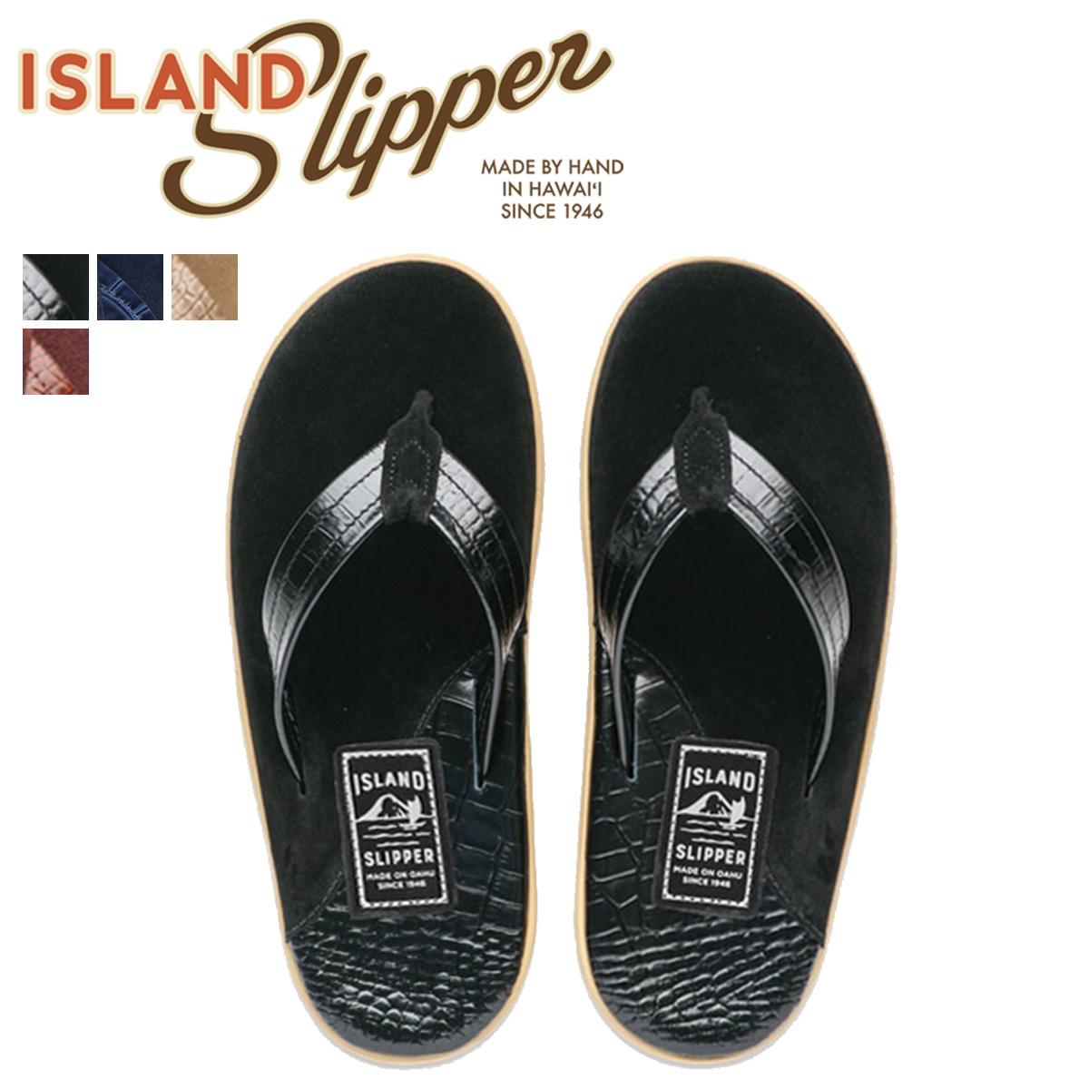 アイランドスリッパ ISLAND SLIPPER サンダル トングサンダル メンズ スエード レザー SNAKE SUEDE PT205