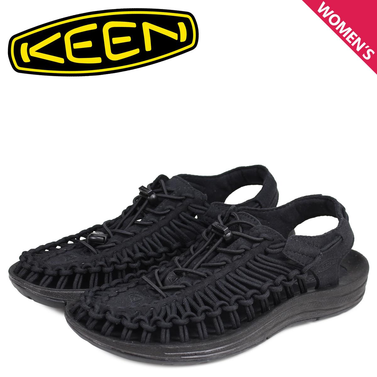 キーン KEEN ユニーク サンダル スポーツサンダル レディース UNEEK ブラック 黒 1014099