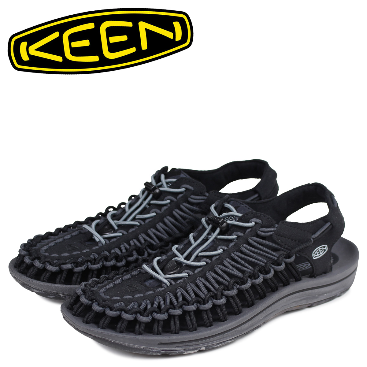 キーン KEEN ユニーク サンダル スポーツサンダル メンズ UNEEK ブラック 黒 1020778