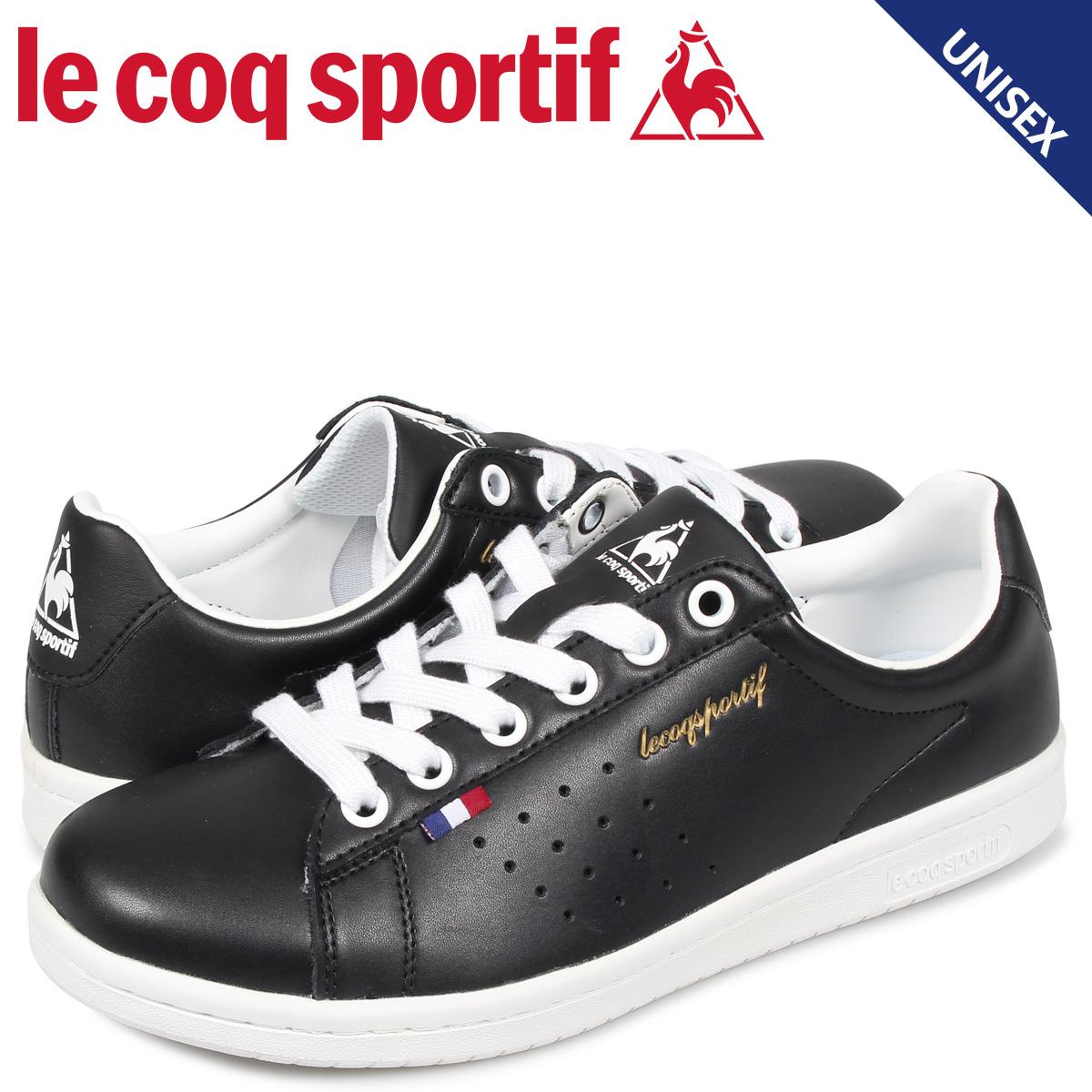 ルコック スポルティフ le coq sportif スニーカー LA ローラン メンズ レディース LA ROLAND LE ブラック 黒 QL1MJC64BB