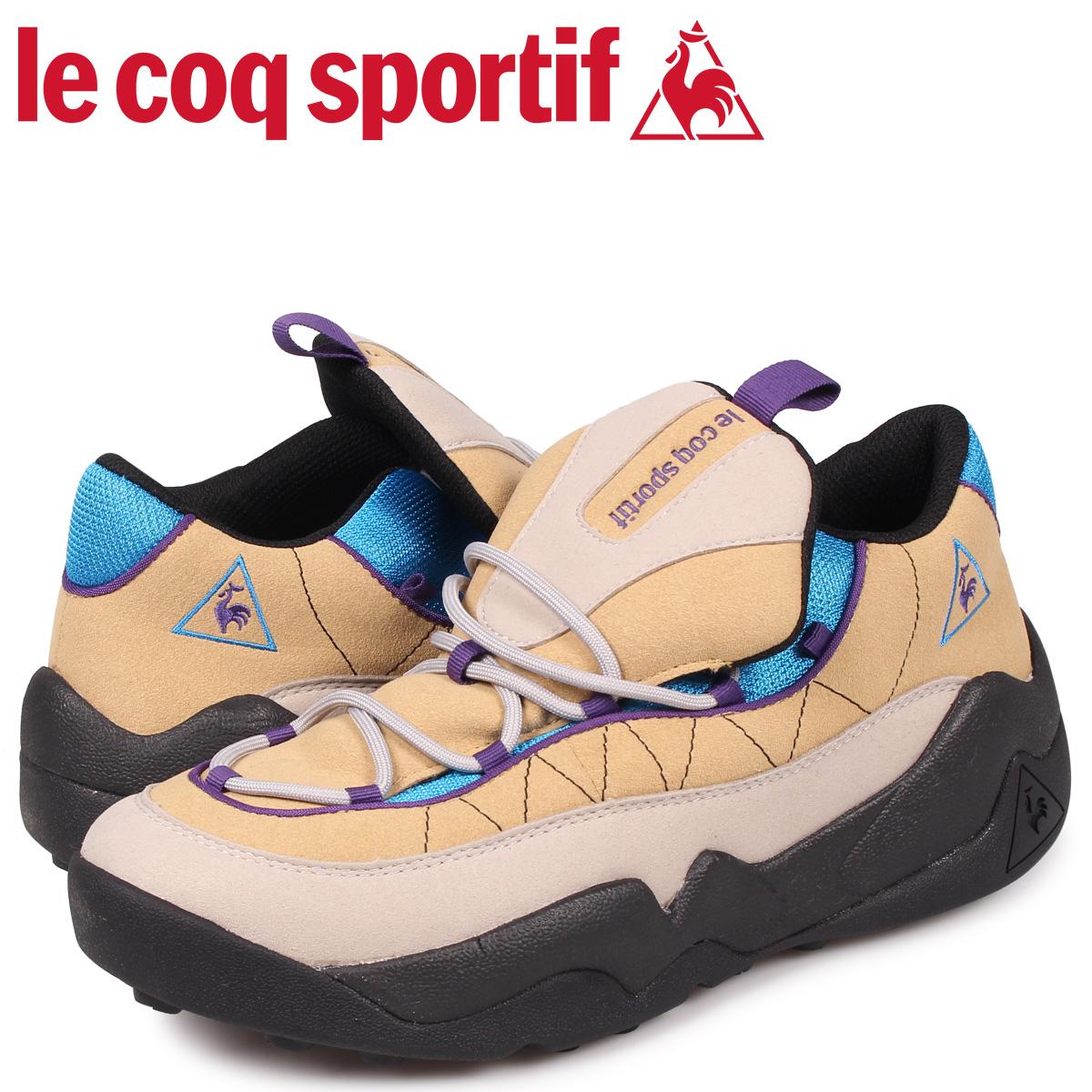【最大2000円OFFクーポン】 ルコック スポルティフ le coq sportif スニーカー LCS TR メンズ ベージュ QL2OJC52GB