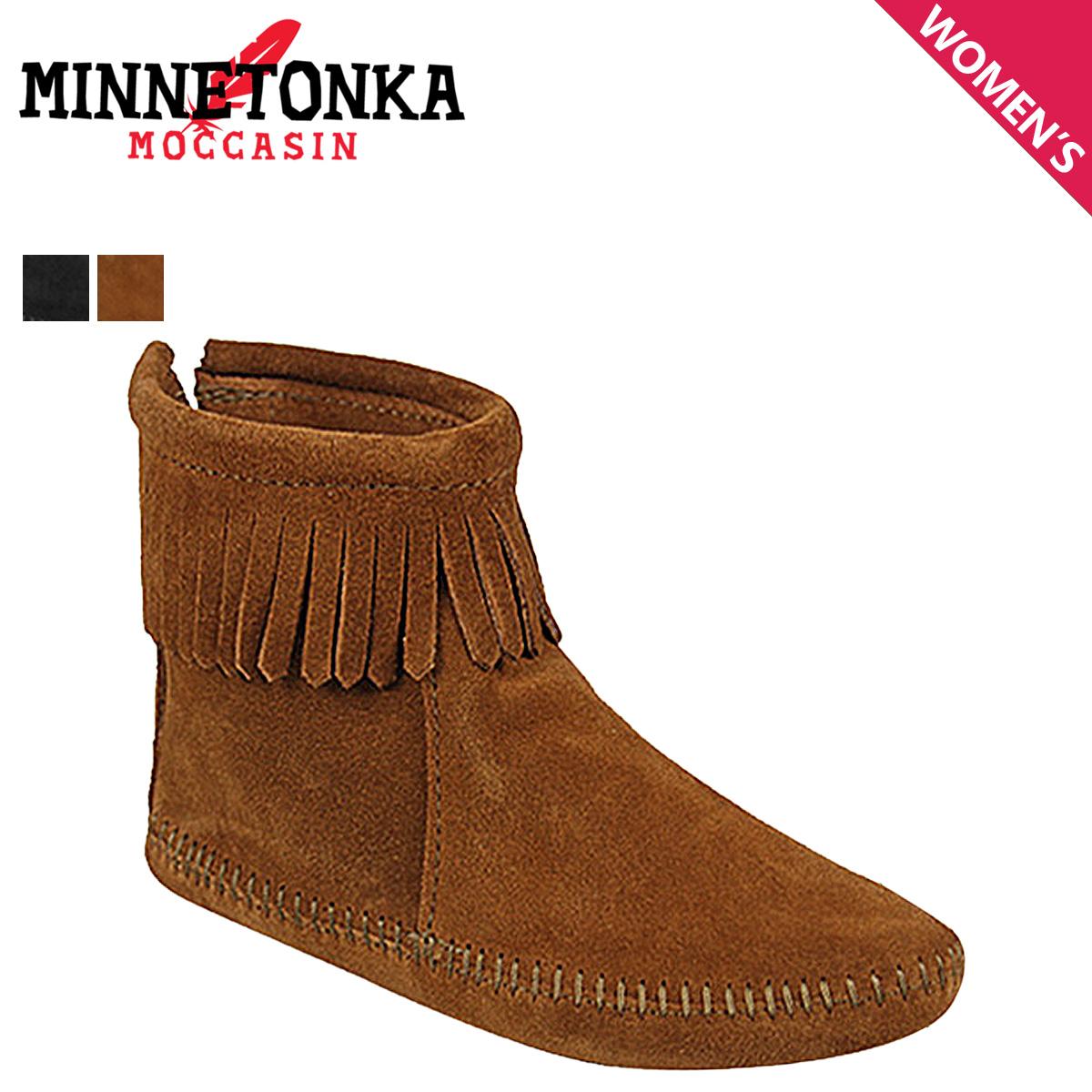 ミネトンカ MINNETONKA バック ジッパー ブーツ ソフトソール BACK ZIPPER BOOTS SOFT SOLE レディース