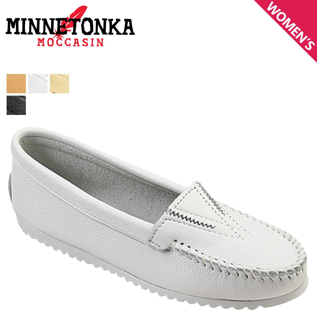 SneaK Online Shop | Rakuten Global Market: Minnetonka MINNETONKA moccasin deerskin Gore front [4 colors] DEERSKIN GORE FRONT leather ladies 42 44 47 49 MOC [regular]