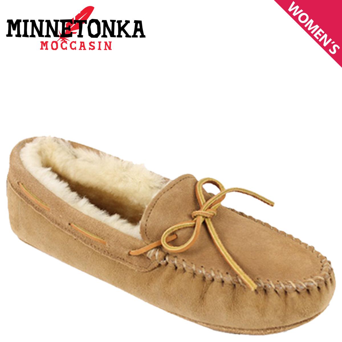 ミネトンカ MINNETONKA モカシン シープスキン ソフトソール SHEEPSKIN SOFT SOLE MOCCASIN レディース
